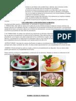 Presentación de Alimentos