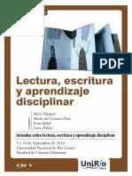 La lectura, escritura y aprendizaje disciplinar.pdf