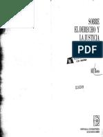 1A. Ross. Sobre El Derecho y La Justicia, Pp. 1-28