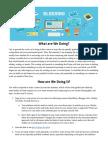 blogging  journals  assignment sheet