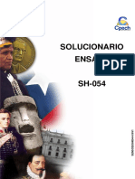Solucionario Ensayo SH 054 2016