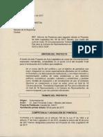 Ponencia Segundo Debate Proyecto Acto Legislativo sobre 167 municipios seleccionados para curules Congreso
