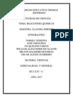 ACTIVIDAD DE CIENCIAS REACCIONES QUIMICAS.docx