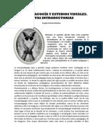 Iconopedagogía y Estudios Visuales (Román)