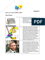 Weekly News Letter 30.08.2017