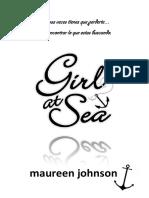 Girl at Sea-maureen Johnson