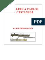 Marín, Guillermo - Para Leer a Carlos Castaneda