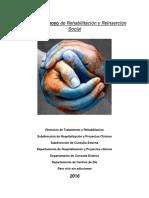 Manual de Apoyo de Rehabilitacion y Reinsercion Social