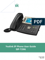 Yealink SIP-T29G User Guide V81 90