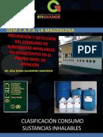 Prevención y Detección Del Consumo de Substancias Inhalables
