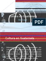 Cultura en Guatemala