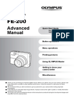 Olympus Advanced Manual FE200