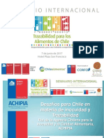 01 Desafíos Para Chile en Materia de Inocuidad y Trazabilidad - Michel Leporati