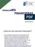 Razones Financieras - Ebc