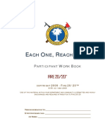 Each One Reach One Training Workbook