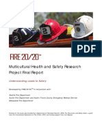 Multicultural Health and Safety Research Project Final Report