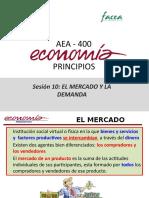 Sesión 11-AEA400 El Mercado y La Demanda (2)