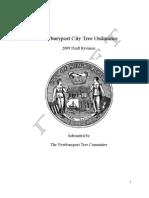 DRAFT of Newburyport Tree Ordinance