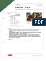 Zucchini Quinoa Fritters