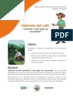 Nutrición Del Café (by SCAN)