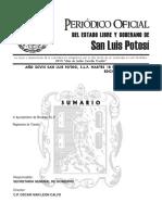 Reglamento de Transito de Rioverde