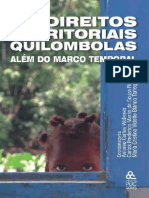 Os Direitos Territoriais Quilombolas