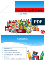 Harmful Effects of Soft Drinks More Detailes