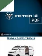 Presentacion Minivan