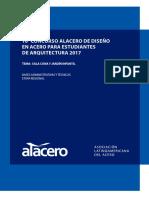 10o Concurso Alacero - Bases Administrativas y Tecnicas
