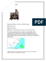 Sutton Hoo Helmet Object File Prototype