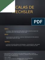 Escalas de Wechsler