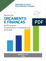 Manual do Orçamento e Finanças