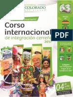 III Corso Internacional de La Integracion Cerreña 2017 Web