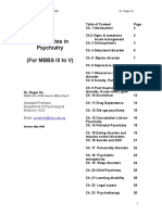 59211447 Lecture Notes on Psychiatry