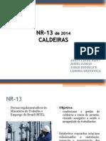 SEMINÁRIO - NR13
