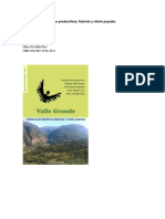 Resumen Libro Valle Grande