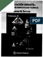 Sattler, Jerome. Evaluación Infantil. Aplicaciones conductuales y clínicas. Volumen II