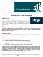 Pre Teach Vocab