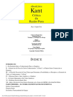 Kant - A critica da Razao Pura.pdf
