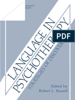 (Emotions, Personality, and Psychotherapy) Robert L. Russell (auth.), Robert L. Russell (eds.)-Language in Psychotherapy_ Strategies of Discovery-Springer US (1987).pdf