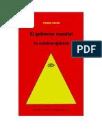 Virion Pierre - El Gobierno Mundial Y La Contraiglesia