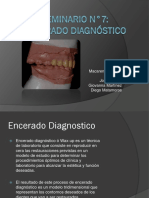 Seminario Encerado dental