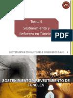 Sostenimiento y Revestimiento de Tuneles