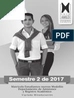 RA Circular Estudiantes Nuevos MED 2017 2