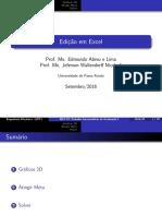 04 - Edição Em Excel