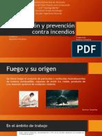 Proteccion y Prevencion Contra Incendios
