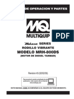 MRH800DS Rev 3 Spanish Manual