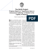 The Sirus Project. Progress report on 'superfluous injury of unnecessary suffering' in relation to the legality of weapons.pdf