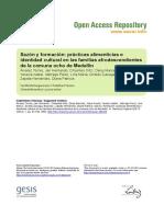 Alvarez Torres Et Al-Sazon y Formacion Practicas Alimenticias