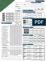 Starfinder RPG - Character Sheet